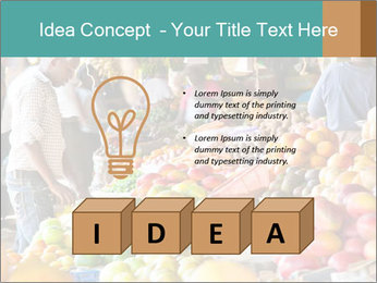 Vegetable market PowerPoint Templates - Slide 80