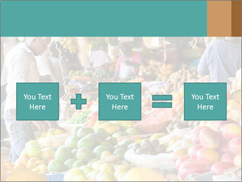 Vegetable market PowerPoint Templates - Slide 95