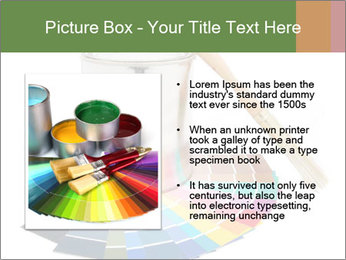 Paint PowerPoint Template - Slide 13