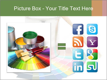 Paint PowerPoint Template - Slide 21