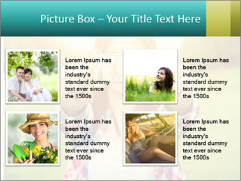 Beautiful woman PowerPoint Template - Slide 14
