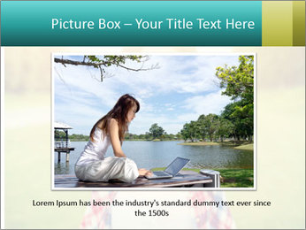 Beautiful woman PowerPoint Template - Slide 16