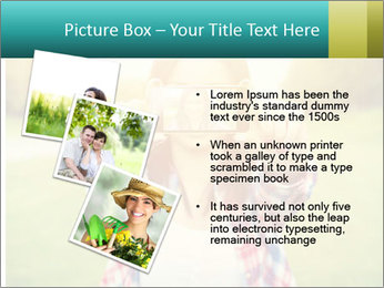 Beautiful woman PowerPoint Template - Slide 17