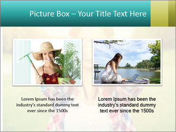 Beautiful woman PowerPoint Template - Slide 18