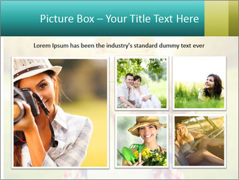 Beautiful woman PowerPoint Templates - Slide 19