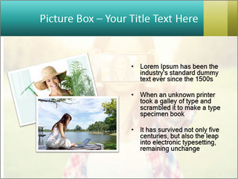 Beautiful woman PowerPoint Template - Slide 20