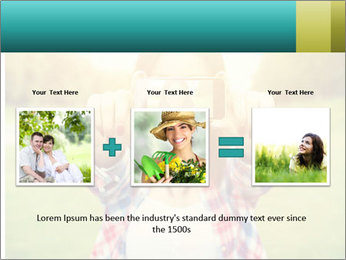 Beautiful woman PowerPoint Template - Slide 22