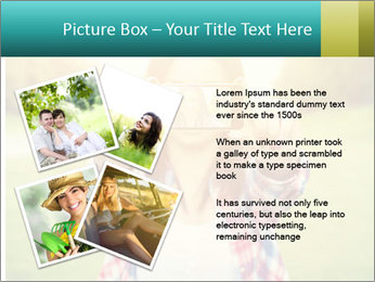 Beautiful woman PowerPoint Template - Slide 23