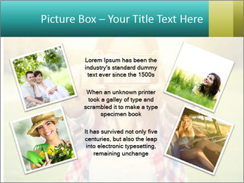Beautiful woman PowerPoint Template - Slide 24