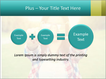 Beautiful woman PowerPoint Template - Slide 75