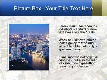 Economic center of Thailand PowerPoint Template - Slide 13