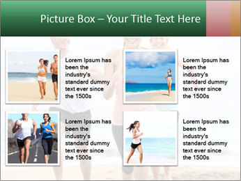 Group running PowerPoint Template - Slide 14