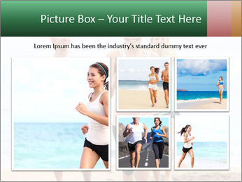 Group running PowerPoint Template - Slide 19