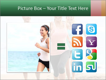 Group running PowerPoint Template - Slide 21