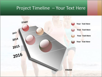 Group running PowerPoint Template - Slide 26