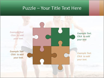 Group running PowerPoint Template - Slide 43