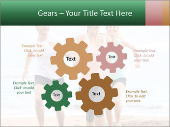 Group running PowerPoint Template - Slide 47