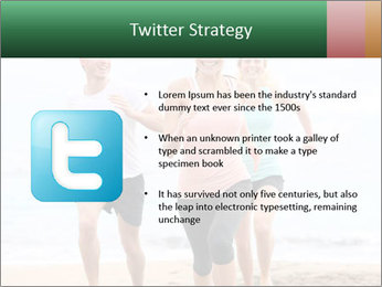 Group running PowerPoint Template - Slide 9