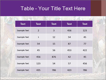 Pheasants PowerPoint Templates - Slide 55