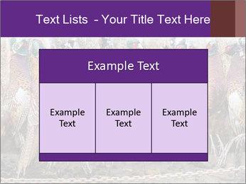 Pheasants PowerPoint Templates - Slide 59