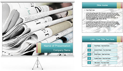 Newspapers PowerPoint Template