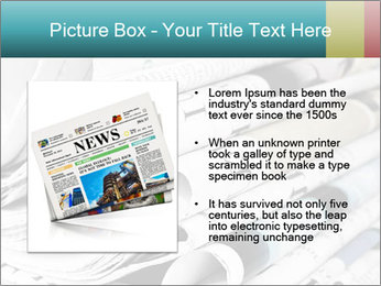 Newspapers PowerPoint Templates - Slide 13