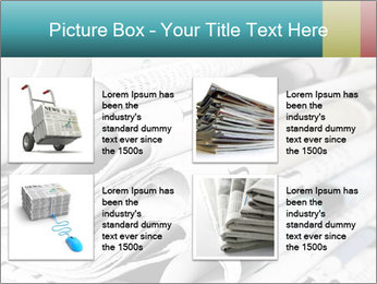 Newspapers PowerPoint Templates - Slide 14
