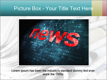 Newspapers PowerPoint Templates - Slide 15