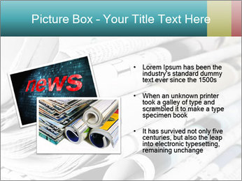 Newspapers PowerPoint Templates - Slide 20