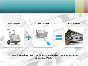 Newspapers PowerPoint Templates - Slide 22