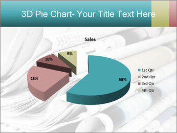 Newspapers PowerPoint Templates - Slide 35