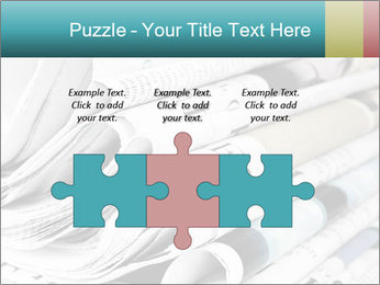 Newspapers PowerPoint Templates - Slide 42
