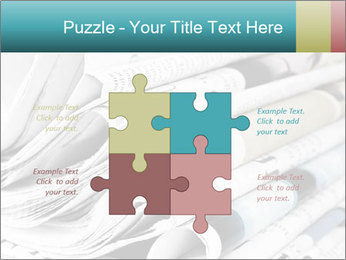 Newspapers PowerPoint Templates - Slide 43