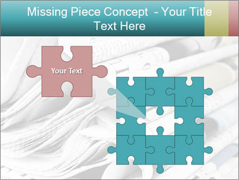 Newspapers PowerPoint Templates - Slide 45