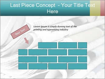 Newspapers PowerPoint Templates - Slide 46