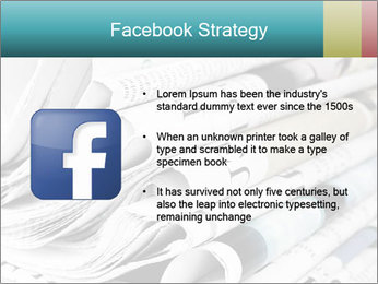 Newspapers PowerPoint Templates - Slide 6
