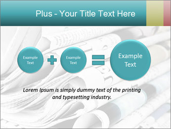 Newspapers PowerPoint Templates - Slide 75