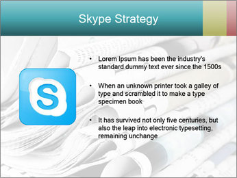 Newspapers PowerPoint Templates - Slide 8