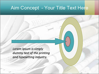 Newspapers PowerPoint Templates - Slide 83
