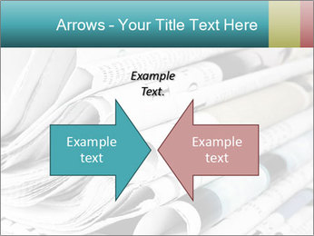 Newspapers PowerPoint Templates - Slide 90
