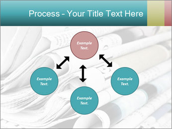 Newspapers PowerPoint Templates - Slide 91