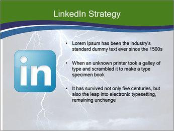 Lightning strike PowerPoint Template - Slide 12