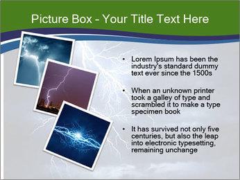 Lightning strike PowerPoint Template - Slide 17