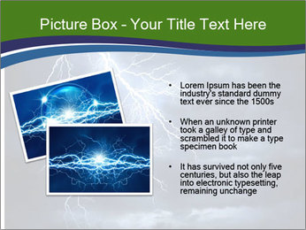 Lightning strike PowerPoint Template - Slide 20