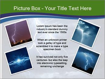 Lightning strike PowerPoint Template - Slide 24