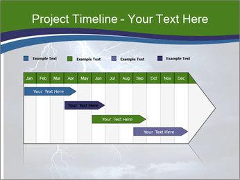 Lightning strike PowerPoint Template - Slide 25