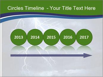 Lightning strike PowerPoint Template - Slide 29