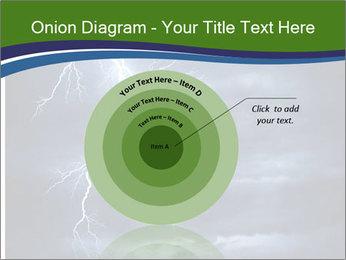 Lightning strike PowerPoint Template - Slide 61