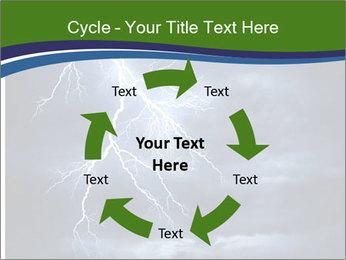Lightning strike PowerPoint Template - Slide 62