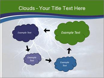 Lightning strike PowerPoint Template - Slide 72